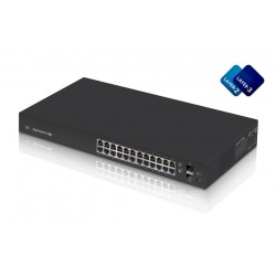 Ubiquiti Switches เชื่อมเครือข่ายแบบสาย Ubiquiti EdgeSwitch ES-24-Lite L2/L3 Managed Gigabit Switch 24 Port, 2 Port SFP, VLAN...
