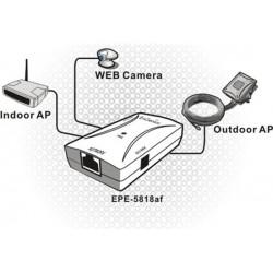 EnGenius EnGenius EPE-5818af - 802.3af PoE Injector with 48V Power Adapter (สินค้ายกเลิก)