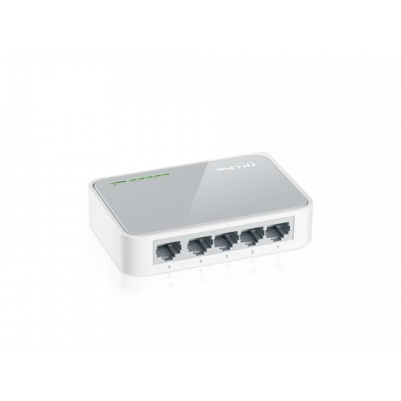 TP-Link TL-SF1005D Desktop Switch 5-Port ความเร็ว 10/100Mbps Switches เชื่อมเครือข่ายแบบสาย