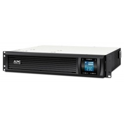 APC SMC1000I-2U Smart-UPS C 1000VA 600W LCD 230V, Line Interactive with AVR