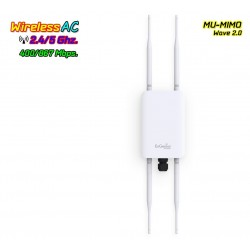 Engenius ENH1350EXT Access Point Outdoor AC MU-MIMO Wave2 Dual-Band 1300Mbps POE Wireless AccessPoint (กระจายสัญญาณ WIFI)