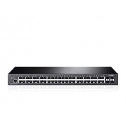 TP-LINK T2600G-52TS (TL-SG3452) JetStream 48-Port Gigabit L2 Managed Switch, 4 SFP Switches เชื่อมเครือข่ายแบบสาย