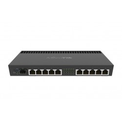 Mikrotik Router RB4011iGS+RM, CPU 4 Core 1.4G, Ram 1 GB, Lv.5, 10 Port Gigabit, SFP+ Mikrotik Router