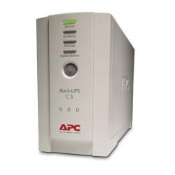 APC BK500EI เครื่องสำรองไฟ APC Back-UPS CS 500VA/300W, 230V UPS เครื่องสำรองไฟ