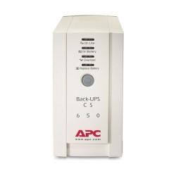 APC BK650AS เครื่องสำรองไฟ APC BACK-UPS CS 650VA/400W 230V