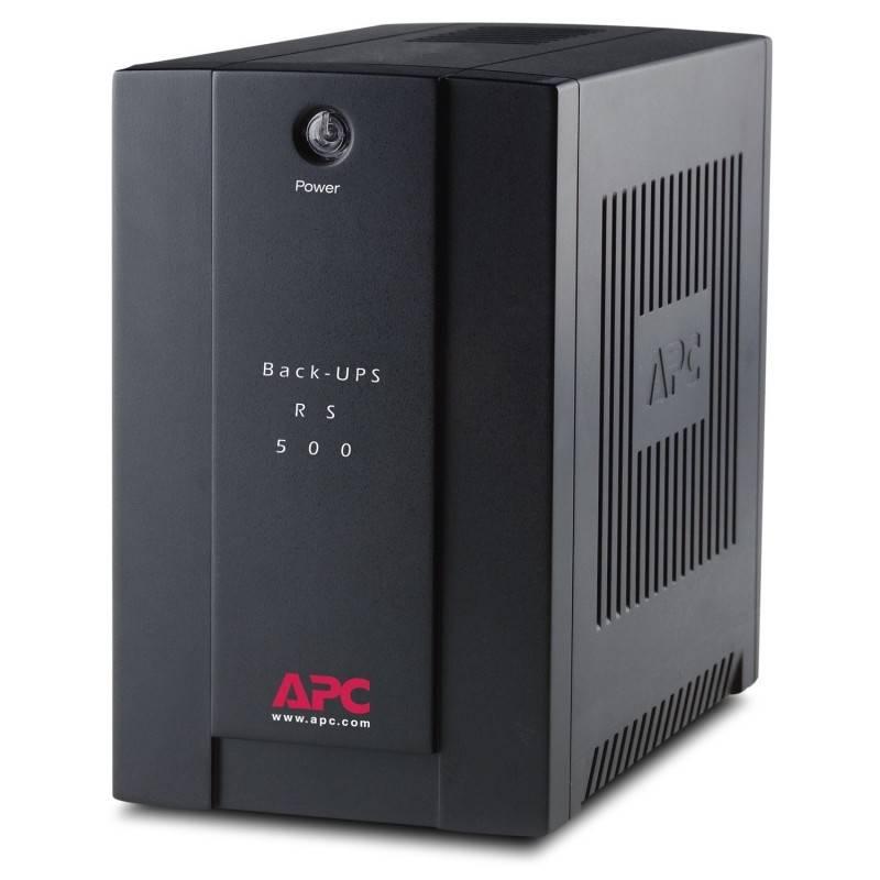 APC BR500CIAS เครื่องสำรองไฟ APC Back-UPS RS 500VA/300W, 230V UPS เครื่องสำรองไฟ