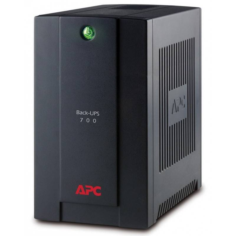 APC BX700U-MS เครื่องสำรองไฟ APC Back-UPS 700VA/390W, 230V, AVR UPS เครื่องสำรองไฟ