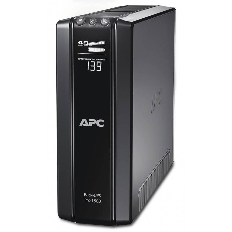 APC BR1500GI เครื่องสำรองไฟ UPS APC Power-Saving Back-UPS Pro 1500VA/865W LCD UPS เครื่องสำรองไฟ