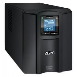 APC SMC2000I เครื่องสำรองไฟ UPS APC Smart-UPS C 2000VA/1300W LCD 230V, Tower