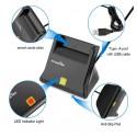Smart Card Reader Rocketek RT-SCR2 Type ISO7816 Class A, B, C ฟรี Software อ่านบัตร ระบบ Hotspot จัดเก็บ Log