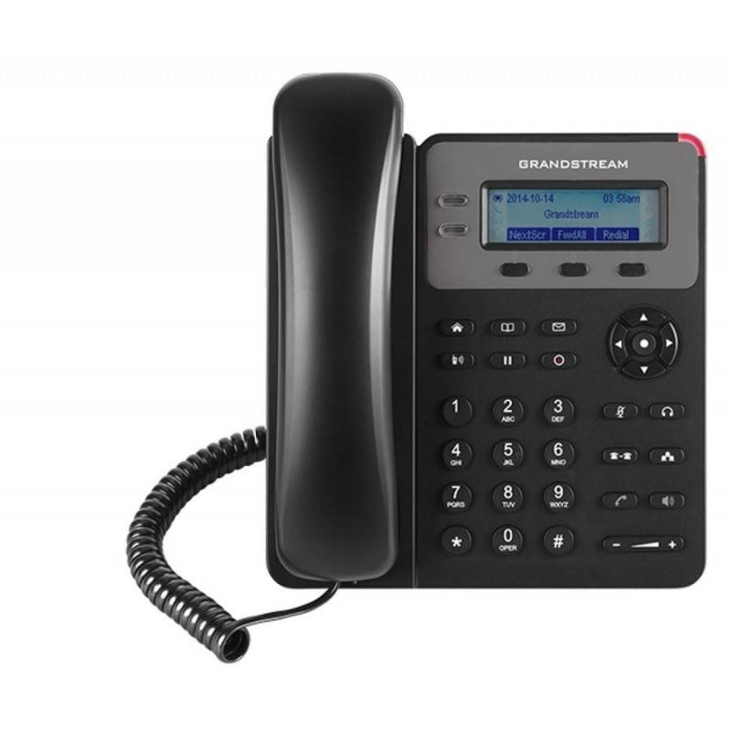 GrandStream GXP-1610 IP-Phone 1 Sip Account, 2 Port Lan, HD Audio, LCD Color, 3-Way Conference VOIP / IP-PBX ระบบโทรศัพท์แบบ IP