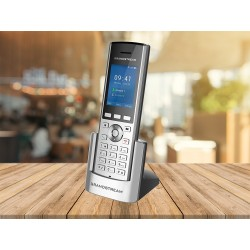 GrandStream WP820 portable WiFi IP-Phone 2 Sip Account HD Audio, Dual-Band, Bluetooth VOIP / IP-PBX ระบบโทรศัพท์แบบ IP
