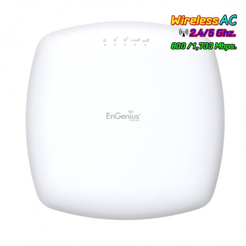 EnGenius EnGenius EWS375AP 11ac Wave 2 4x4 Managed Indoor Wireless Access Point 1,733/800Mbps