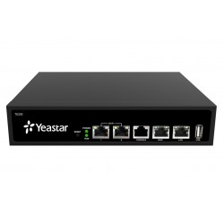 Yeastar TE200 E1/ T1 /J1 VoIP Gateway เชื่อมต่อเครือข่ายโทรศัพท์ E1/ T1 /J1 x2 Port VOIP / IP-PBX ระบบโทรศัพท์แบบ IP