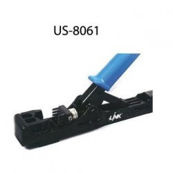 Link US-8061 คีมเข้าหัว RJ45 Fast Jack and Plug Termination Tool (Two in one) สายนำสัญญาณ Network Cable & Tools