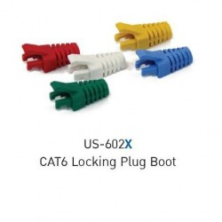 Link US-662X Locking Plug Boots CAT6 Cover Protect RJ45 plus and Cables Connector หัวต่อ LAN