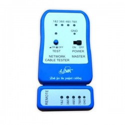 Link TX-1302 เครื่องทดสอบสาย UTP, Cable Testers, Quickly test by auto Scanning Cabling Tools and Testers