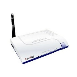 Tactio CONCERO-85TX4G - 85Mbps PowerLine 4-Port 10/100TX Ethernet Adapter with Wireless-G PowerLine Adapter