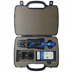 Link US-8030 - LAN PROFESSIONAL SET OF TOOL & TESTER (ชุดเครื่องมือ LAN ครบชุด) อุปกรณ์ Network Accessories