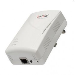 PowerLine Adapter Tactio CONCERO-200TX1 - 200Mbps PowerLine 1-Port 10/100TX Ethernet Adapter