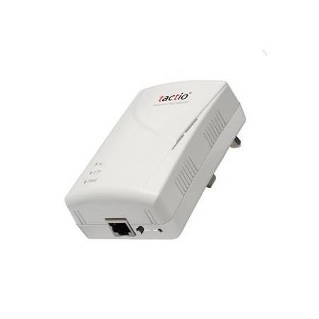 Tactio CONCERO-200TX1 - 200Mbps PowerLine 1-Port 10/100TX Ethernet Adapter