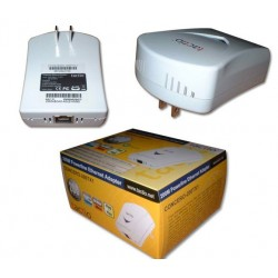 Tactio CONCERO-200TX1 - 200Mbps PowerLine 1-Port 10/100TX Ethernet Adapter PowerLine Adapter