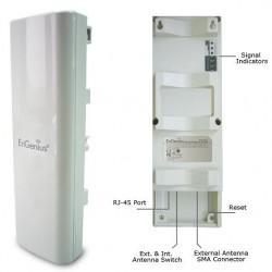 EnGenius EnGenius EOC-5610 Wireless A/P ความเร็ว 54 Mbps Dual Band เสาอากาศ 5dBi และ 13dBi ย่านความถี่ 2.4 และ 5GHz 600mW