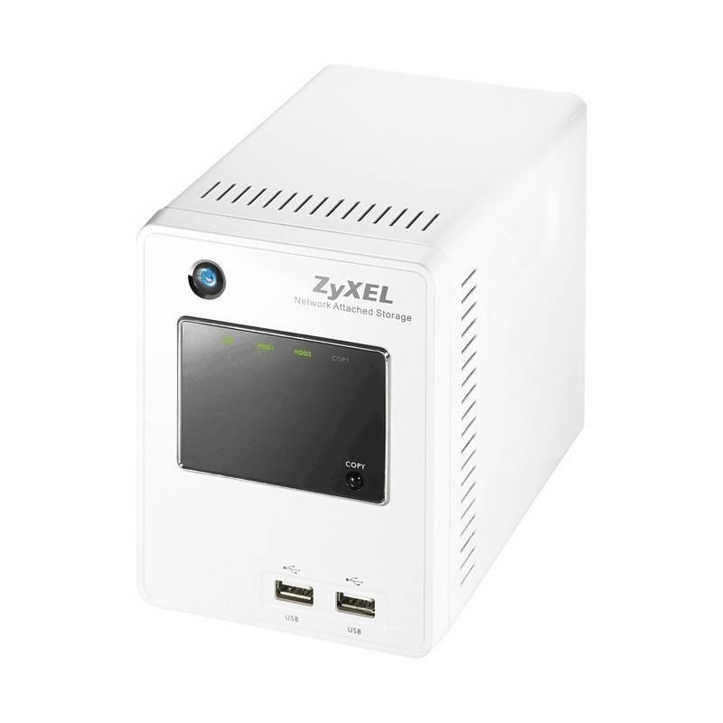 """ZyXel Zyxel NSA-220 PLUS - 3.5"""" 2x1.5TB SATA-II, 10/100/1000 Mbps, BitTorrent"""