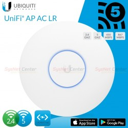 Ubiquiti Ubiquiti UniFi UAP-AC-LR Access Point Wireless AC Long Rang Antenna 867Mbps