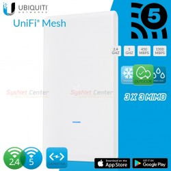 Ubiquiti UniFi AC Mesh Pro UAP-AC-M-PRO Outdoor AP Wireless AC-Dual Band Dual-omni antennas, 1750Mbps Wireless AccessPoint (ก...
