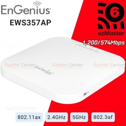 EnGenius EWS357AP 802.11ax WiFi 6 2x2 Managed Indoor Wireless Access Point 1,733/800Mbps Wireless Access Point