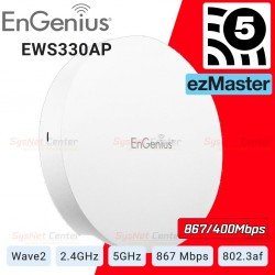 EnGenius EWS330AP Dual Band AC1300 Managed Indoor Wireless Access Point MU-MIMO Wave2 Wireless AccessPoint (กระจายสัญญาณ WIFI)