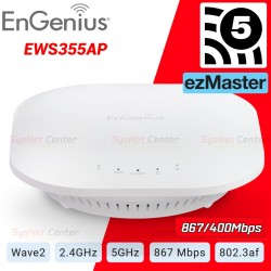EnGenius EWS355AP Neutron 11ac Wave 2 Managed Indoor Wireless Access Point ความเร็ว 300/867 Mbps Wireless AccessPoint (กระจาย...