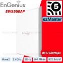 EnGenius EWS550AP Dual Band AC1300 Managed Wall Plate Access Point ความเร็วสูงสุด 1.3Gbps รองรับการจ่ายไฟ POE Wireless Access...