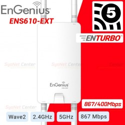 Engenius ENS610EXT MU-MIMO Wave 2 Accees Point แบบ Outdoor Dual-band AC 867Mbps Wireless AccessPoint (กระจายสัญญาณ WIFI)