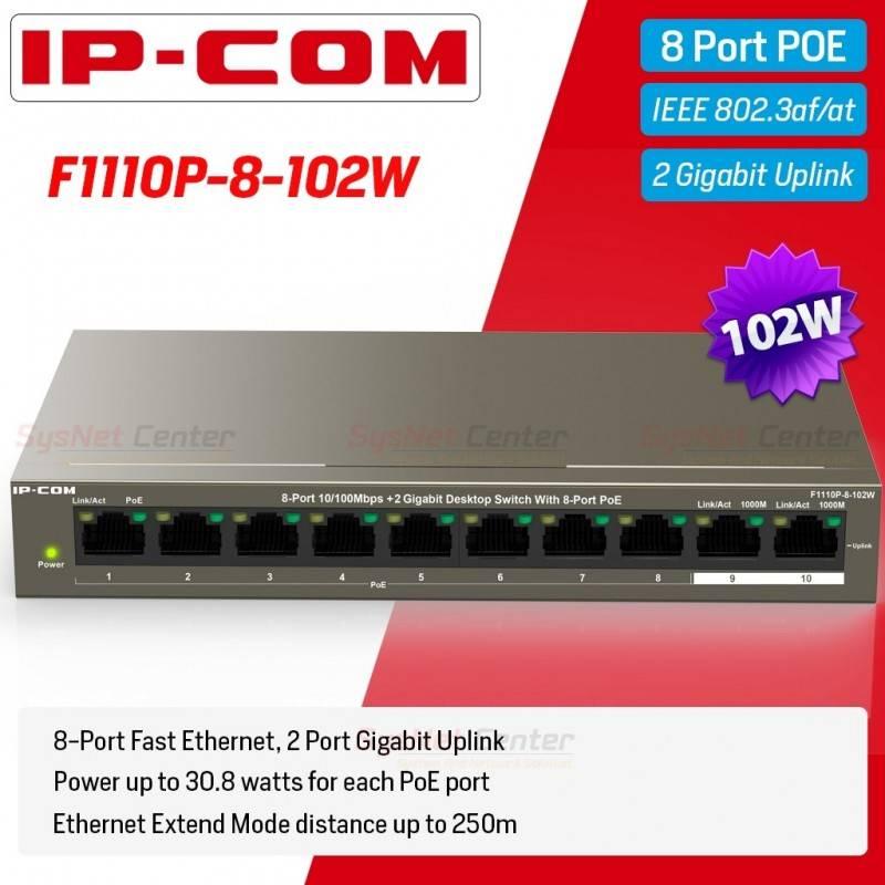 9 ports Gigabit Ethernet Optical Fiber Switch with 8 SFP ports and 1*1000M RJ45