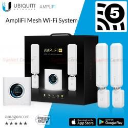 Ubiquiti AmpliFi Mesh Wi-Fi System ชุดอุปกรณ์ AmpliFi Mesh Router และ AmpliFi Mesh Point HD Wireless AccessPoint (กระจายสัญญา...