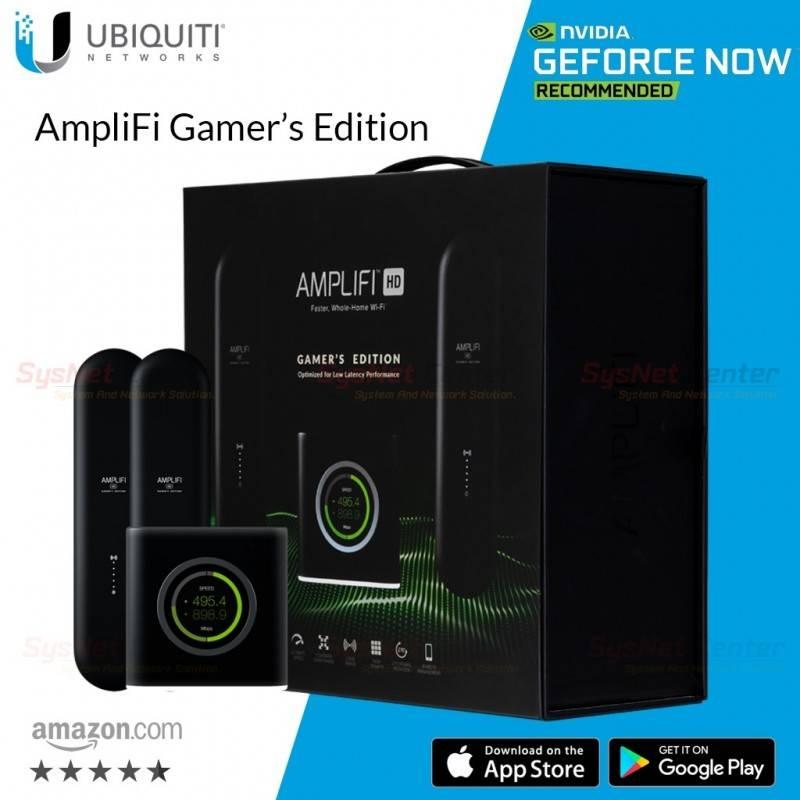 Ubiquiti Ubiquiti AmpliFi Mesh Wi-Fi System Gamer's Edition AmpliFi 802.11ac Wi-Fi mesh technology