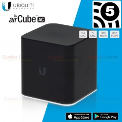 Ubiquiti airCube ac (ACB-AC) Home Wi-Fi Access Point 802.11ac,4 Port Gigabit Ubiquiti (ยูบิคิวตี้)