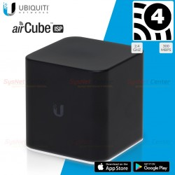 Ubiquiti airCube ISP (ACB-ISP) Home Wi-Fi Access Point N MIMO,4 Port Lan รองรับ POE Ubiquiti (ยูบิคิวตี้)
