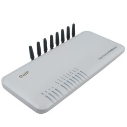 GOIP-08 GSM Gateway 8 SIM Slot เชื่อมต่อระบบ IP-PBX, 850M/900M/1800M/1900M VOIP / IP-PBX ระบบโทรศัพท์แบบ IP