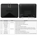 Sysnology MR2200ac WIFI MESH AC Wave2 Tri-Band 867Mbps Safe Access 867Mbps Wireless AccessPoint (กระจายสัญญาณ WIFI)