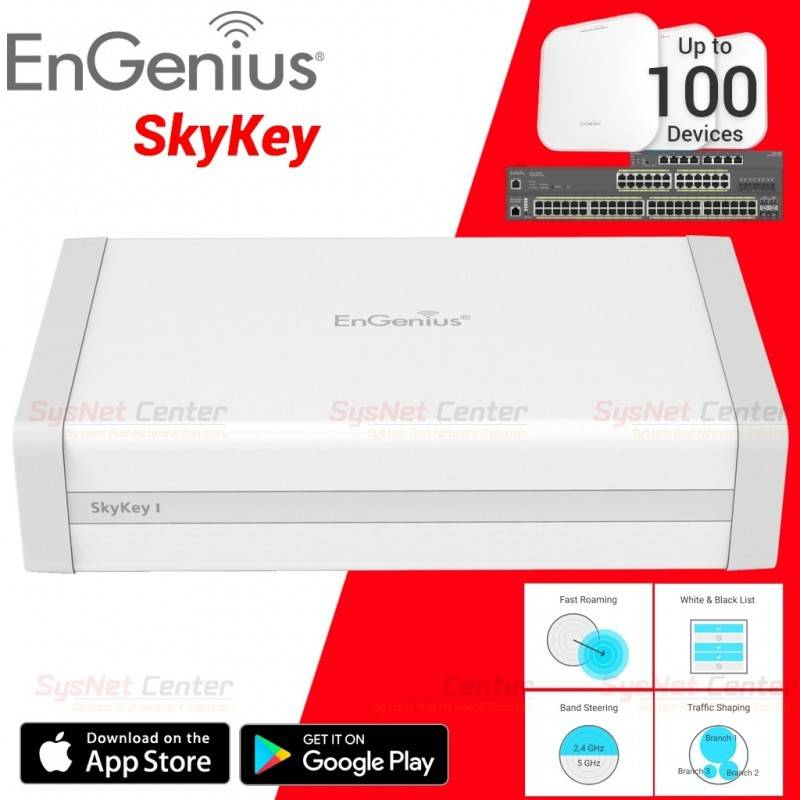 EnGenius Engenius SkyKey Central Device Management รองรับ Engenius AP และ Sw สูงสุด 100 Device