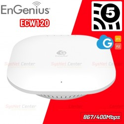EnGenius ECW120 Cloud Managed 11ac Wave 2 Wireless Indoor Access Point 1.2Gbps Wireless AccessPoint (กระจายสัญญาณ WIFI)