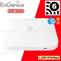 EnGenius ECW220 Cloud Managed 802.11ax WiFi 6 2x2 Indoor Wireless Access Point 1,774Mbps Wireless AccessPoint (กระจายสัญญาณ W...