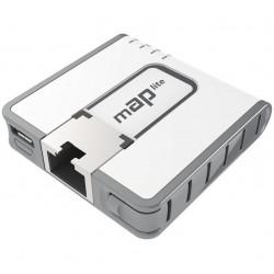 Mikrotik mAP-lite Wireless Access Point 2.4GHz 150Mbps ROS LV4 ขนาดเล็ก รองรับไฟ USB Mikrotik (ไมโครติก)