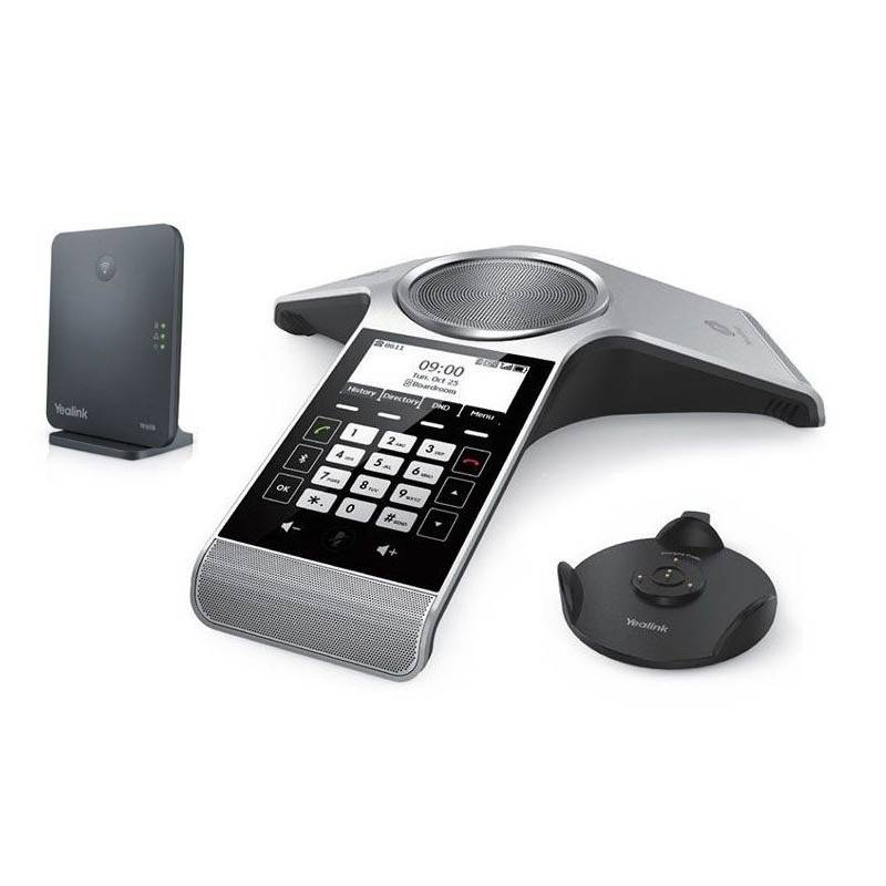 Yealink CP930W-Base Conference DECT IP Phone, Base Station, Graphical Display VOIP / IP-PBX ระบบโทรศัพท์แบบ IP