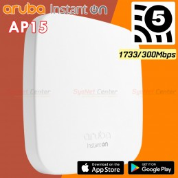 Aruba Instant On AP15 (RW) 4x4:4 11ac Wave2 Indoor Access Point 2,033Mbps