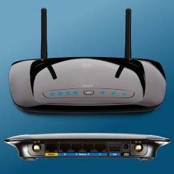 Linksys WRT160NL 300Mbps Wireless-N Router, เสาภายนอก 2x1.8dBi + USB2.0