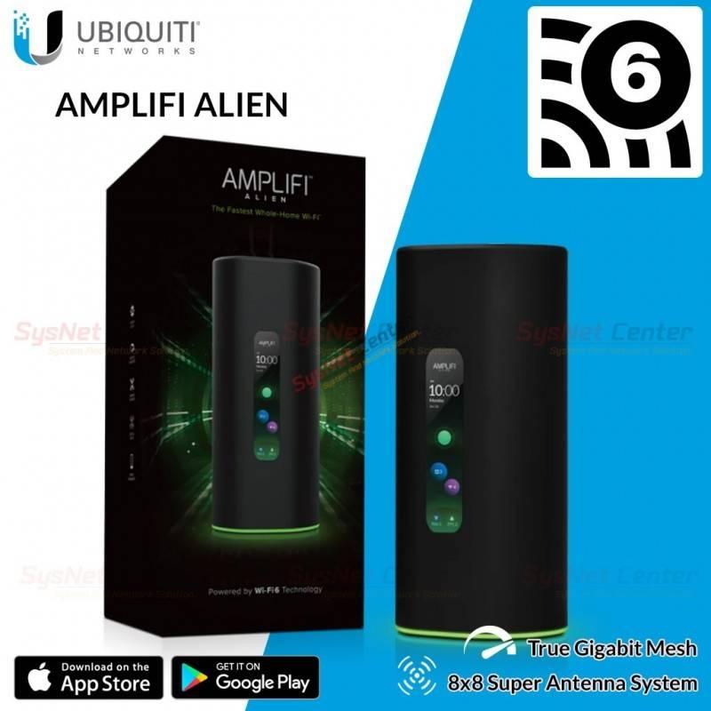 Ubiquiti Ubiquiti AmpliFi Alien Tri-Band WiFi 6 Mesh Router 7685 Mbps 8x8 Antenna